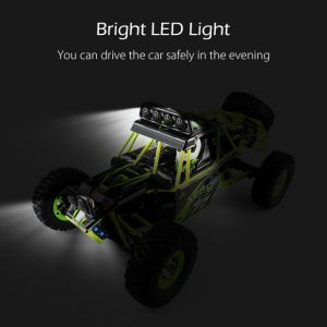 AUTO RC 4WD OFF-ROAD WLTOYS 12428 ITALIA Fari led