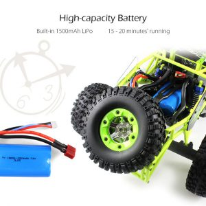 AUTO RC 4WD OFF-ROAD WLTOYS 12428 ITALIA KIT 2 BATTERIE