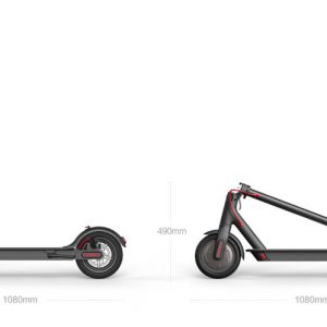 electric scooter dimension