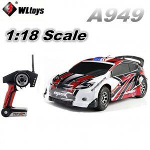 WLtoys A949 da Italia AUTO radiocomandata 4WD Waterproof RTR Li-Po 1:18 40Km/h