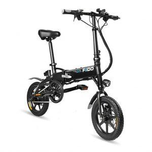 FIIDO D1 7.8Ah nera bicicletta elettrica pieghevole spedizione rapida gratuita da ITALIA