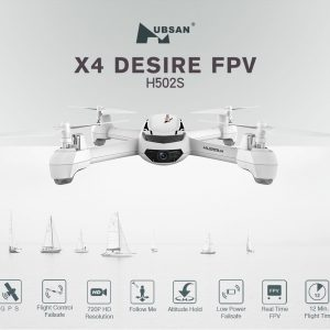HUBSAN H502S X4 DESIRE FPV RC QUADCOPTER RTF da ITALIA