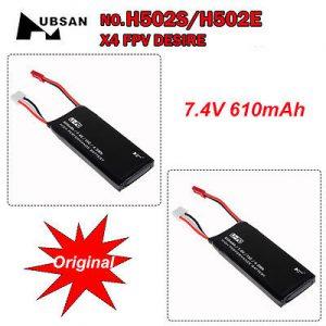 batterie Hubsan H502 batterie li-po originali Hubsan