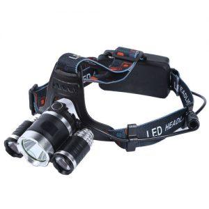 Torcia frontale 3 LED molto apprezzata tra gli amanti di caccia, pesca ed escursionismo.