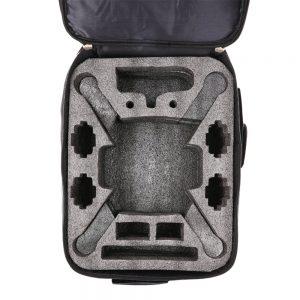 Zaino ben progettato, multifunzionale, offre la libertà di portare il vostro Mi Drone ovunque, facilmente e in modo sicuro, senza dover rimovere il gimbal.
