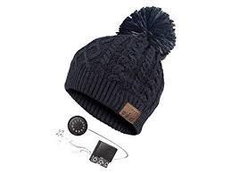 Cappello invernale Music Hat - Pompon bluetooth integrato vari colori