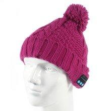 Cappello invernale Music Hat - Pompon bluetooth integrato vari colori cappello felpato che ti tiene caldo e comodo in inverno, mentre ti godi la tua musica preferita. Il microfono integrato ti permette di ricevere ed effettuare chiamate. TUTTE LE PARTI ELETTRONICHE INTEGRATE SI POSSONO FACILMENTE RIMUOVERE RENDENDO POSSIBILE IL LAVAGGIO DEL CAPPELLO.