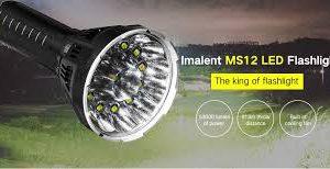 IMALENT MS12 da ITALIA Torcia Led 53000 Lumen La MS12 è una poderosa torcia a LED ricaricabile della casa di Imalent. Progettata per la massima luminosità e durata nel tempo.