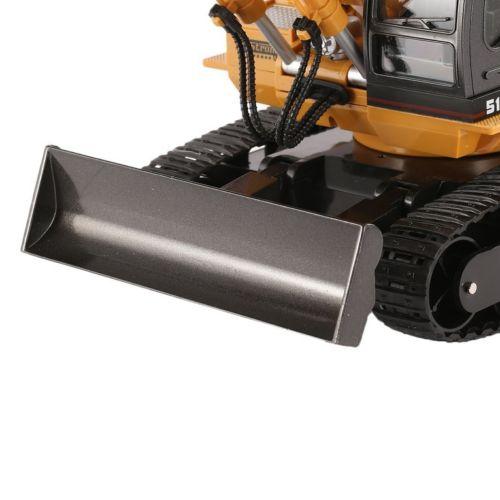 Bulldozer RC Escavatore Radiocomandato scala 1:16 con movimentazione pari alla versione reale. Huina 1510 da Italia