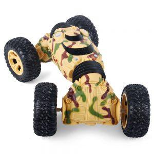 off-road deformation chariot 1086 Inarrestabile Auto Radiocomandata Quattro RuoteMotrici, in caso di rovesciamento può proseguire la sua corsa senza problemi, grazie al pulsante di trasformazione presente sul radiocomando. Auto RC off-road