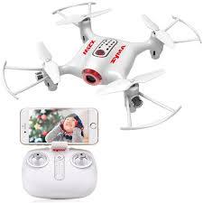 Quadricottero SYMA X21W da Italia MINI Drone FPV con videocamera WiFi 720P 2.4GHz 4CH – Bianco
