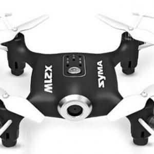 Quadricottero SYMA X21W MINI Drone RC con videocamea WiFi 720P 2.4GHz 4CH - Nero X21W drone FPV tascabile fotocamera Real time
