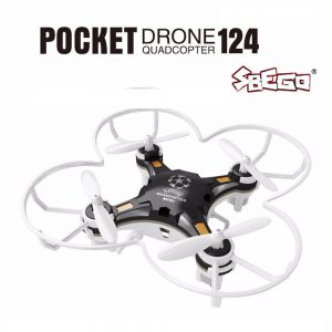 Sbego Pocket Drone 124 Quadcopter Nero