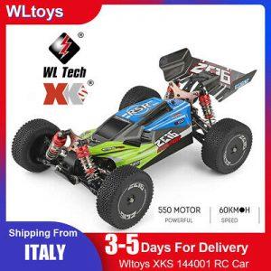 WLtoys XKS 144001 da Italia Auto Radiocomandata Buggy 4WD alta velocità 60 Km/h. Spedizione da Italia, Consegna rapida DHL in 24/48 ore