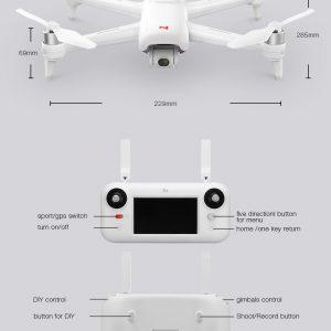 XIAOMI FIMI A3 è un Drone radiocomandato molto pratico da usare, affidabile e con ottime prestazioni; sicuramente il drone perfetto per chi desidera approcciare professionalmente a questo hobby. Caratteristiche: