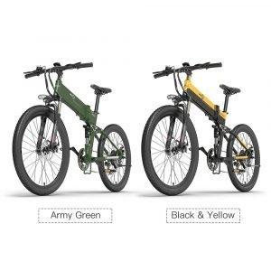 BEZIOR X500 PRO mountain bike elettrica 26 pieghevole ammortizzata Cambio SHIMANO 7 velocità. Spedizione Rapida Gratuita e GARANZIA ITALIANA
